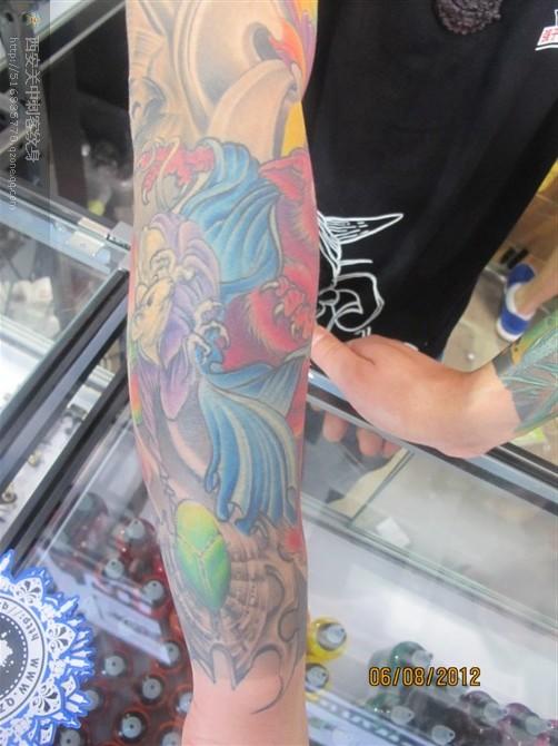 2012廊坊国际展会纹身艺术博览会
